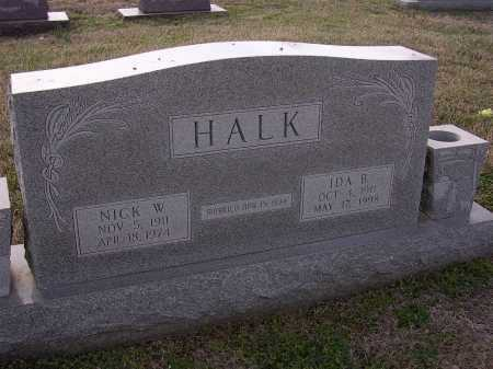 HALK, IDA B - Cross County, Arkansas   IDA B HALK - Arkansas Gravestone Photos