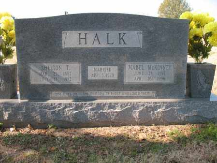 HALK, SR., SHELTON THOMAS - Cross County, Arkansas | SHELTON THOMAS HALK, SR. - Arkansas Gravestone Photos