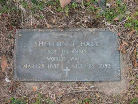 HALK, SR (VETERAN WWI), SHELTON THOMAS - Cross County, Arkansas | SHELTON THOMAS HALK, SR (VETERAN WWI) - Arkansas Gravestone Photos
