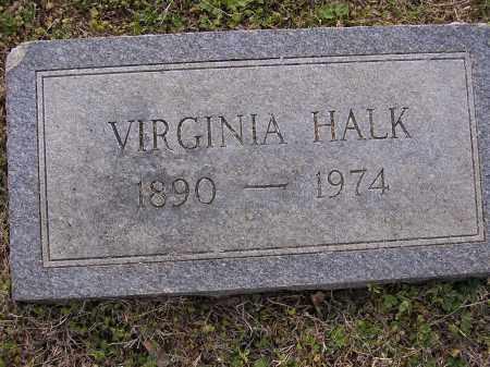 HALK, VIRGINIA - Cross County, Arkansas | VIRGINIA HALK - Arkansas Gravestone Photos