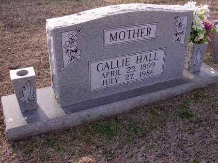 HALL, CALLIE - Cross County, Arkansas   CALLIE HALL - Arkansas Gravestone Photos