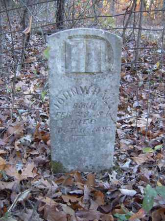 HALL, JOHN W. - Cross County, Arkansas | JOHN W. HALL - Arkansas Gravestone Photos