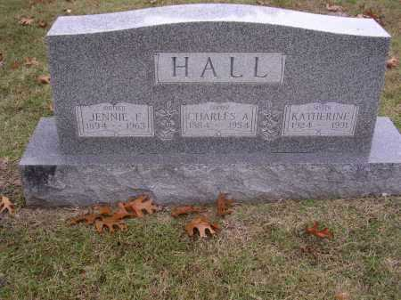 HALL, KATHERINE - Cross County, Arkansas | KATHERINE HALL - Arkansas Gravestone Photos