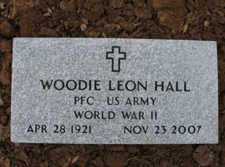 HALL (VETERAN WWII), WOODIE LEON - Cross County, Arkansas | WOODIE LEON HALL (VETERAN WWII) - Arkansas Gravestone Photos
