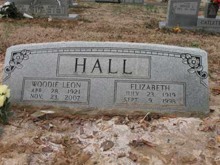 HALL, ELIZABETH - Cross County, Arkansas | ELIZABETH HALL - Arkansas Gravestone Photos