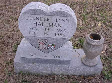 HALLMAN, JENNIFER LYNN - Cross County, Arkansas | JENNIFER LYNN HALLMAN - Arkansas Gravestone Photos
