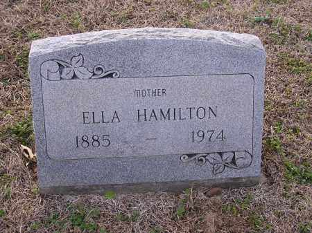 HAMILTON, ELLA - Cross County, Arkansas | ELLA HAMILTON - Arkansas Gravestone Photos
