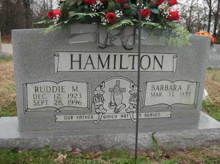 HAMILTON, RUDDIE M - Cross County, Arkansas | RUDDIE M HAMILTON - Arkansas Gravestone Photos