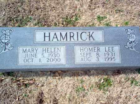 HAMRICK, MARY HELEN - Cross County, Arkansas | MARY HELEN HAMRICK - Arkansas Gravestone Photos