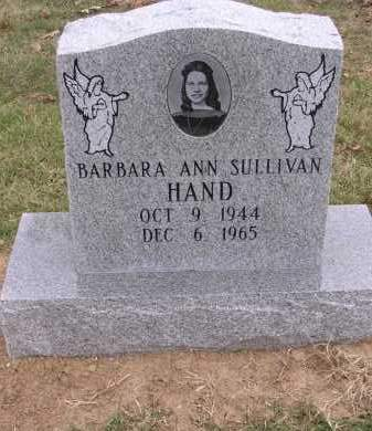 SULLIVAN HAND, BARBARA ANN - Cross County, Arkansas | BARBARA ANN SULLIVAN HAND - Arkansas Gravestone Photos