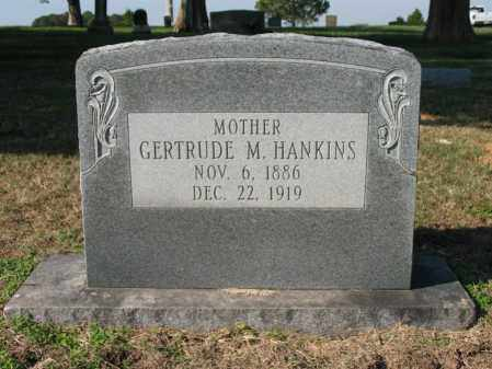 HANKINS, GERTRUDE M - Cross County, Arkansas | GERTRUDE M HANKINS - Arkansas Gravestone Photos