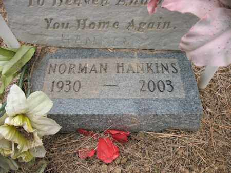 HANKINS, NORMAN - Cross County, Arkansas | NORMAN HANKINS - Arkansas Gravestone Photos