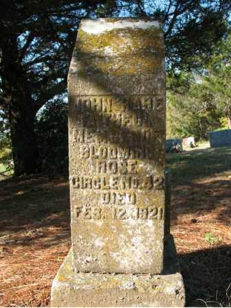 HARE, JOHN - Cross County, Arkansas | JOHN HARE - Arkansas Gravestone Photos