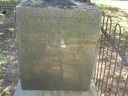 HARE, OLIVIA B - Cross County, Arkansas | OLIVIA B HARE - Arkansas Gravestone Photos