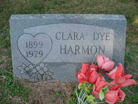 DYE HARMON, CLARA - Cross County, Arkansas   CLARA DYE HARMON - Arkansas Gravestone Photos
