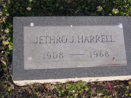 HARRELL, JETHRO J - Cross County, Arkansas   JETHRO J HARRELL - Arkansas Gravestone Photos
