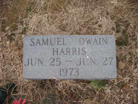 HARRIS, SAMUEL DWAIN - Cross County, Arkansas | SAMUEL DWAIN HARRIS - Arkansas Gravestone Photos