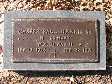 HARRIS, SR (VETERAN WWII), CASPER PAUL - Cross County, Arkansas | CASPER PAUL HARRIS, SR (VETERAN WWII) - Arkansas Gravestone Photos