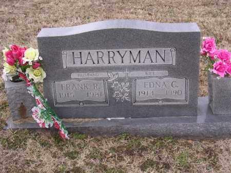 HARRYMAN, FRANK R - Cross County, Arkansas   FRANK R HARRYMAN - Arkansas Gravestone Photos