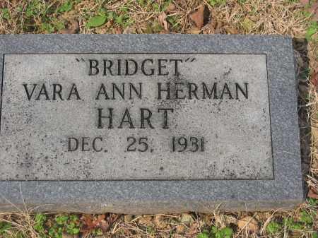 HERMAN HART, BRIDGET   (CONTRIBUTOR BIO) - Cross County, Arkansas | BRIDGET   (CONTRIBUTOR BIO) HERMAN HART - Arkansas Gravestone Photos