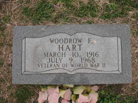 HART (VETERAN WWII), WOODROW F - Cross County, Arkansas | WOODROW F HART (VETERAN WWII) - Arkansas Gravestone Photos