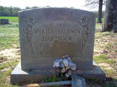 HARTSOCK, MYRTLE - Cross County, Arkansas | MYRTLE HARTSOCK - Arkansas Gravestone Photos