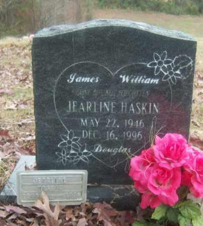 HASKIN, JEARLINE - Cross County, Arkansas | JEARLINE HASKIN - Arkansas Gravestone Photos