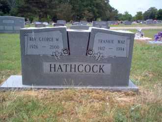 HATHCOCK,  REV, GEORGE W - Cross County, Arkansas | GEORGE W HATHCOCK,  REV - Arkansas Gravestone Photos