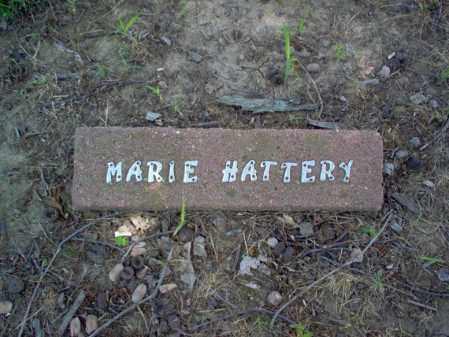 HATTERY, MARIE - Cross County, Arkansas   MARIE HATTERY - Arkansas Gravestone Photos