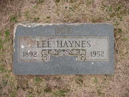 HAYNES, LEE - Cross County, Arkansas   LEE HAYNES - Arkansas Gravestone Photos