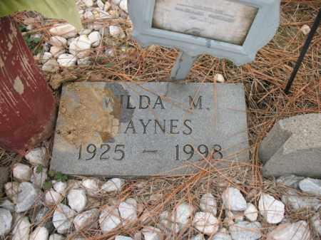 HAYNES, WILDA M - Cross County, Arkansas | WILDA M HAYNES - Arkansas Gravestone Photos