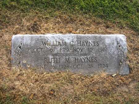 HAYNES, WILLIAM C - Cross County, Arkansas   WILLIAM C HAYNES - Arkansas Gravestone Photos