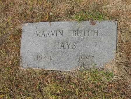 "HAYS, MARVIN ""BUTCH"" - Cross County, Arkansas | MARVIN ""BUTCH"" HAYS - Arkansas Gravestone Photos"