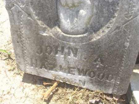HAZELWOOD, JOHN A - Cross County, Arkansas | JOHN A HAZELWOOD - Arkansas Gravestone Photos