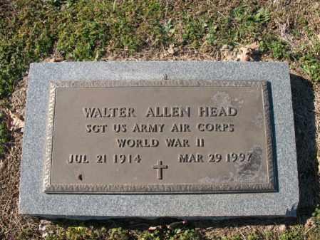 HEAD (VETERAN WWII), WALTER ALLEN - Cross County, Arkansas | WALTER ALLEN HEAD (VETERAN WWII) - Arkansas Gravestone Photos