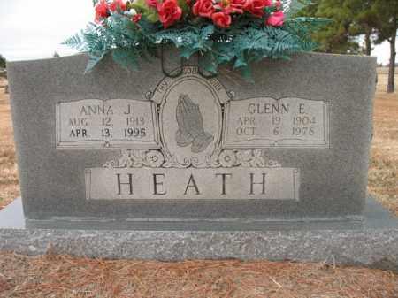 HEATH, ANNA J - Cross County, Arkansas | ANNA J HEATH - Arkansas Gravestone Photos