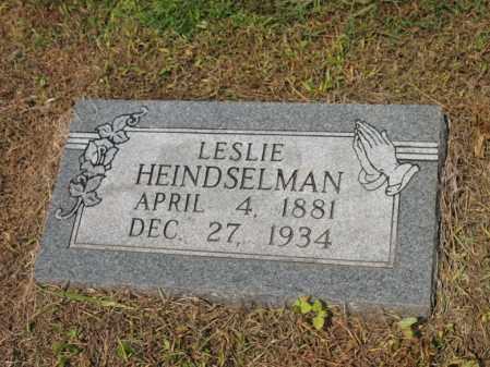 HEINDSELMAN, LESLIE - Cross County, Arkansas | LESLIE HEINDSELMAN - Arkansas Gravestone Photos