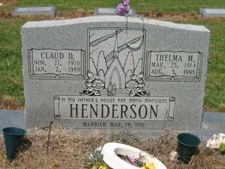 HENDERSON, THELMA M - Cross County, Arkansas | THELMA M HENDERSON - Arkansas Gravestone Photos
