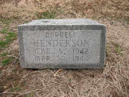 HENDERSON, DARRELL - Cross County, Arkansas   DARRELL HENDERSON - Arkansas Gravestone Photos