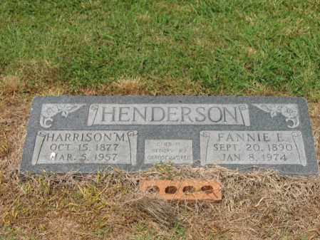 HENDERSON, HARRISON M - Cross County, Arkansas | HARRISON M HENDERSON - Arkansas Gravestone Photos
