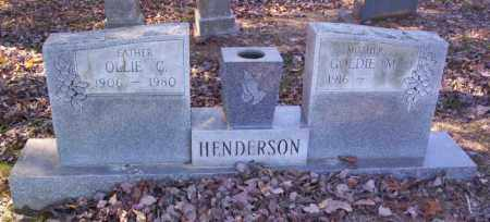 COX HENDERSON, GOLDIE MAE - Cross County, Arkansas | GOLDIE MAE COX HENDERSON - Arkansas Gravestone Photos