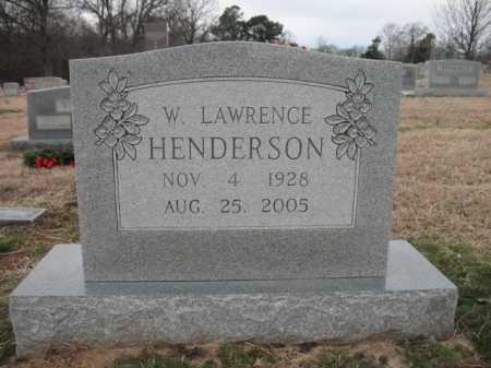 HENDERSON (VETERAN KOR), WILLIAM LAWRENCE - Cross County, Arkansas | WILLIAM LAWRENCE HENDERSON (VETERAN KOR) - Arkansas Gravestone Photos
