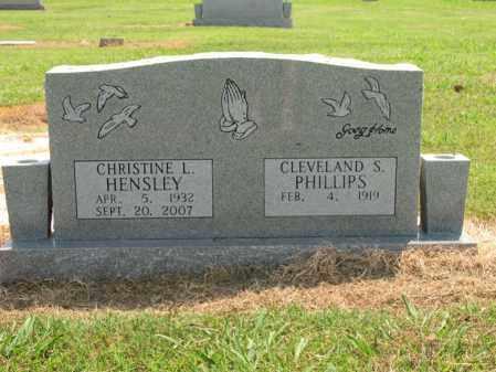HENSLEY, CHRISTINE LAVERTA - Cross County, Arkansas   CHRISTINE LAVERTA HENSLEY - Arkansas Gravestone Photos