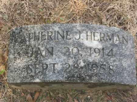 HERMAN, CATHERINE JANE - Cross County, Arkansas | CATHERINE JANE HERMAN - Arkansas Gravestone Photos