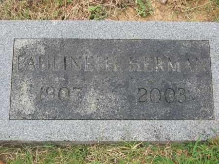 HOWELL HERMAN, FANNIE PAULINE - Cross County, Arkansas | FANNIE PAULINE HOWELL HERMAN - Arkansas Gravestone Photos