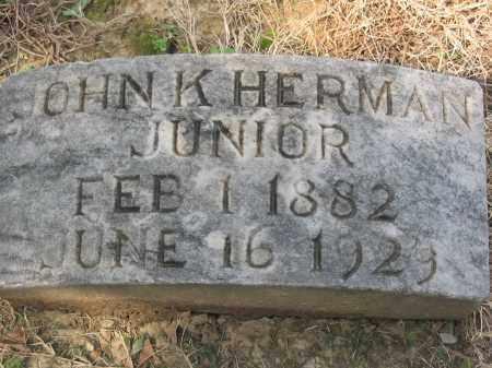 HERMAN, JR., JOHN KONRAD - Cross County, Arkansas | JOHN KONRAD HERMAN, JR. - Arkansas Gravestone Photos