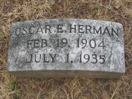 HERMAN, OSCAR EUGENE - Cross County, Arkansas   OSCAR EUGENE HERMAN - Arkansas Gravestone Photos