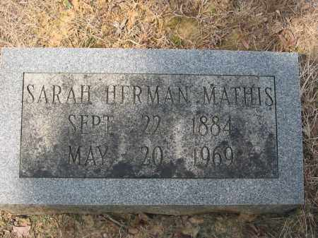 HERMAN, SARAH ANN - Cross County, Arkansas | SARAH ANN HERMAN - Arkansas Gravestone Photos
