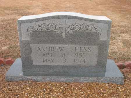 HESS, ANDREW J - Cross County, Arkansas   ANDREW J HESS - Arkansas Gravestone Photos