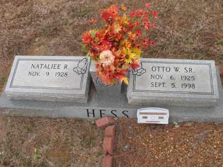 HESS, SR., OTTO W - Cross County, Arkansas | OTTO W HESS, SR. - Arkansas Gravestone Photos